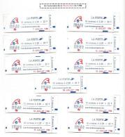 France, 11 Carnets Type C12A **série Complète - Carnets