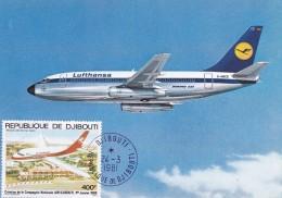 Djibouti - Carte Maximum - Djibouti (1977-...)