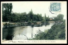 Cpa Du 77  Lagny Thorigny  -- La Marne En Amont De L' île De La Gourdine      LIOB113 - Lagny Sur Marne