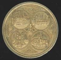 Belgique Médaille EXPOSITION INTERNATIONNALE DE BRUXELLES 1897 - Sonstige