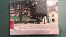 CPM COURS LA VILLE RHONE FETE DU MILLENAIRE JUILLET 2000 PLACE WINSLOW CABINE TELEPHONIQUE ANGLAISE   SI - Cours-la-Ville