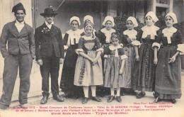 CPA 09  GRAND CONCOURS DE COSTUMES LOCAUX FETES DE ST GIRONS - Saint Girons