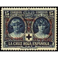 ES353STV-LFT***353SRCFR.ANIVERSARIO.JURA   CONSTITUCION POR ALFONSO Xlll. 1927 (Ed 353**) Sin Charnela MAGNIFICO - Familias Reales