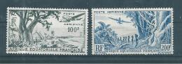 France Colonie  Timbres  D´AEF  PA De 1946  N°51 Et 52  Neuf ** - A.E.F. (1936-1958)
