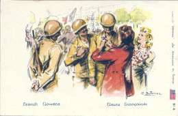 Illustrateur G. Dutriac - Welcome Les Américains En France N°4 - Fleurs Françaises French Flowers - Unclassified