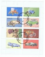 NAGALAND - SHEET OF 8 STAMPS - CAR - 1972