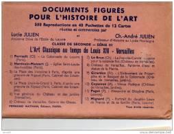 POCHETTE DE 12 CARTES POSTALES LL ART CLASSIQUE AU TEMPS DE LOUIS XIV (LOT AD4) - Paintings