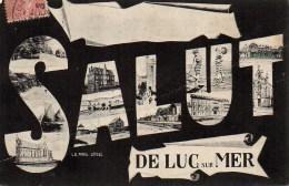 14 Salut  De LUC-sur-MER - Luc Sur Mer