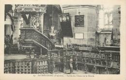 29 ST-THEGONNEC STALLES DU CHOEUR ET LA CHAIRE - Saint-Thégonnec