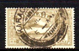 T489 - INDIA , Posta Aerea 4 Anna Usato Gibbons 222w (pointing Left) - 1902-11  Edward VII