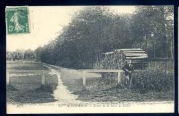 Cpa Du  91  Montgeron Entrée De La Forêt De Sénard  LIOB112 - Montgeron