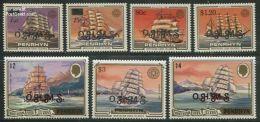 Penrhyn 1986 O.H.M.S. 7v, (Mint NH), Transport - Ships & Boats - Penrhyn