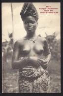 CPA Collection Générale Fortier Afrique Occidentale Etude 239 Jeune Femme Mina - Seins Nus - Cartes Postales