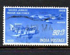 T505 - INDIA , Posta Aerea Yvert N. 8  Usato