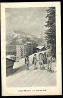 Cpa De Suisse Vaud Leysin , Clinique Miremont Et La Dent Du Midi  LIOB112 - VD Vaud