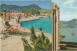 R2688 Hong Kong - Sheraton Hotel - The Large Rooftop Pool / Non Viaggiata - Chine (Hong Kong)