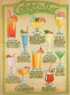 Cocktails By Ray Campbell- Recepies - England - Unused - Recipes (cooking)