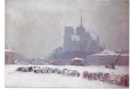 A. Lebourg - L'abside De Notre-Dame De Paris - Peintures & Tableaux