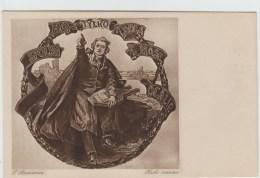 STACHIENVICZ - CARTE Des ETUDIANTS POLONAIS A LEURS JEUNES COLLEGUES LYCEENS FRANCAIS - VARSOVIE 1922 - Polonia