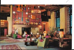 CALIFORNIA--- YOSEMITE NATIONAL PARK---the Great Lounge Of The Ahwahnee Hotel--voir 2 Scans - Yosemite