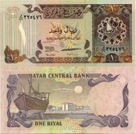 Qatar 1 Riyal 1996 Pick 14b UNC - Qatar