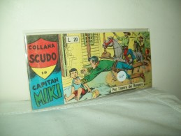 """Capitan Miki """"Collana Scudo""""  Striscia (Dardo 1958)  Serie XV°  N. 19 - Libri, Riviste, Fumetti"""