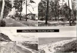 Zeltplatz Dranske - Bakenberg Auf Rügen - Camping Area - Germany - Sent From Germany Bergen To Estonia USSR 1975 - Allemagne