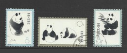 Chine China 1963 Yv.1493/1495 °  Pandas Geants Ref S59 - Oblitérés
