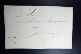 Complete Brief  Per OCAZIE 9 Okt 1834  Van De Commandant 5e Compagnie Arnhem  Naar Doornspijk Bij Elburg - Nederland