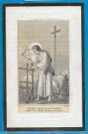 Souvenir Pieux De Adélaïde Collignon - Huy - 1805 - 1863 - Images Religieuses