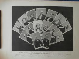 3e Conseil De Guerre Siégeant à Versailles Les Membres Et Les Avocats Défenseurs Commune 1871 L270 - Photography