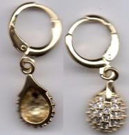 Orecchini Laminati In Oro  18 K - Orecchini