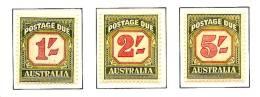 AUSTRALIA 1953/1954 - PORTOMARKEN Postage Due - 3v Mi 72-74 MNH ** Cv€50,00 K546 - Strafport