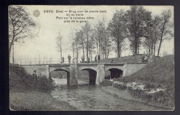 Diest Brug Over De Zwarte Beek Bij De Statie Pont Sur Le Ruisseau Noire. Près De La Gare - Diest