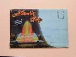 ATLANTIC CITY Carnet Original 20 Views ( Kropp / Pictorial Letter Card ) 19?? ( Zie Foto Voor Details ) !! - Atlantic City