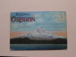 SCENIC OREGON Carnet Original 20 Views ( Wesley Andrews / Pictorial Letter Card ) 19?? ( Zie Foto Voor Details ) !! - Etats-Unis