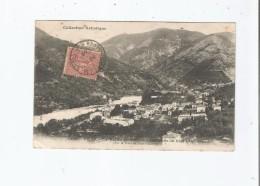 DRAP 1218 LA VALLEE DU PAILLON ENV DE NICE (ALP MAR) PAR LE TRAM DE NICE A CONTES 1905 - Frankreich