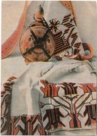 Moldova Folk Art - Textile - Bottle - 1968 - Moldova USSR - Unused - Moldavie