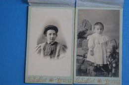 LIMOUX       -    PHOTOGRAPHE   :   G.   LAFFONT           MERE  ET  FILS        2   IMAGES - Anonyme Personen