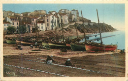 66 BANUYLS SUR MER  Les Remailleuses  Cpsm 2 Scans - Banyuls Sur Mer