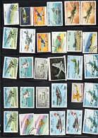 046-1) Lot De Timbres Théme Avions - Timbres