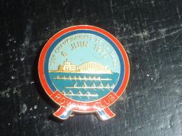 INSIGNE EN EMAIL - AVIRON 100° CHAMPIONNATS DE LA SEINE 6 JUIN 1971 ROWING-CLUB - RARE AVIRON SPORT - Aviron