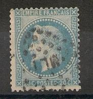 AMBULANT ML 1° Sur N° 29. - 1863-1870 Napoleone III Con Gli Allori