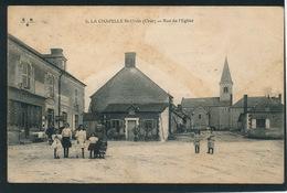 LA CHAPELLE SAINT URSIN - Rue De L'Eglise - Andere Gemeenten