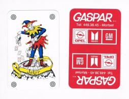 Joker - GASPAR Mortsel Opel Isuzu GM - Playing Cards (classic)