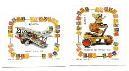 2015 - Italia 3628/29 Antichi Giocattoli - Giochi