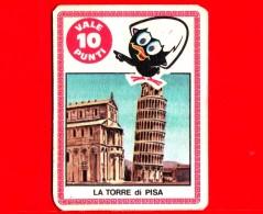 ITALIA - Usato - Anni 60 - 70 - Figurine - Mira Lanza - Calimero - La Torre Di Pisa  - Vale 5 Punti - Pubblicitari