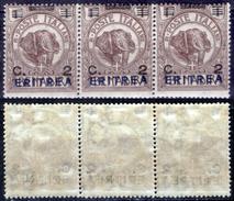 Italia-F01461 - Eritrea 1924: Sassone N. 80 (++) MNH - Privo Di Difetti Occulti. - Eritrea