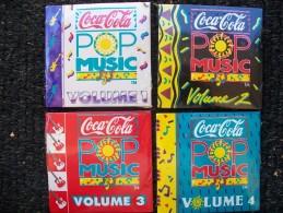 4 Mini Cd  POP MUSIC - Disques & CD