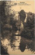 Herchies NA1: Pont Levis Du Vieux Château Du Comte D'Egmont 1930 - Jurbise